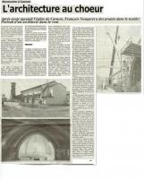 L'Architecture au cœur - Midi-Libre 07/1988